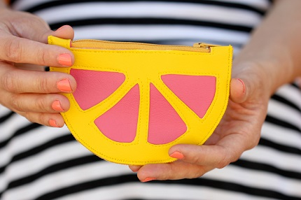 Tutorial: Citrus Wedge Coin Purse