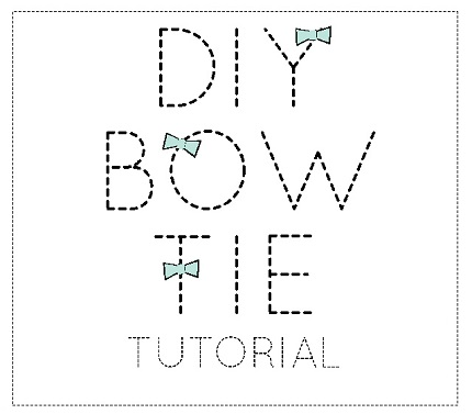 Free pattern: DIY bow tie