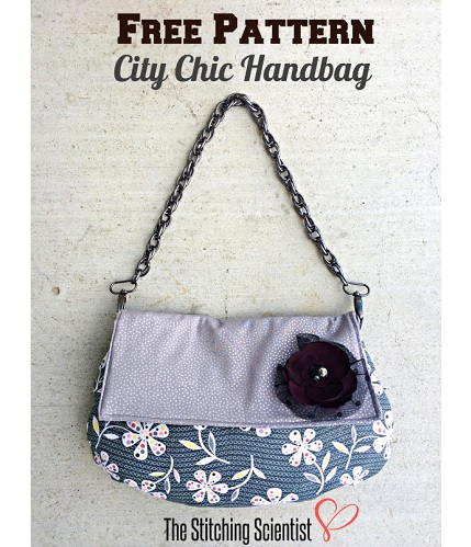 Free pattern: City Chic Handbag