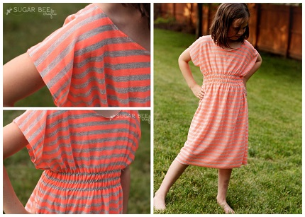 Tutorial: Super Simple Dolman Dress