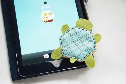 Tutorial: Turtle tablet screen cleaner