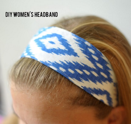 Tutorial: Easy fabric headband