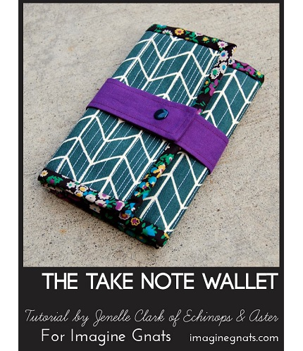 Tutorial: Take Note notebook wallet