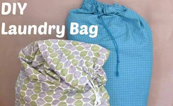 Tutorial: DIY laundry bag from 2 pillowcases - Sewing