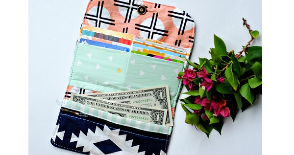Tutorial: DIY fabric wallet