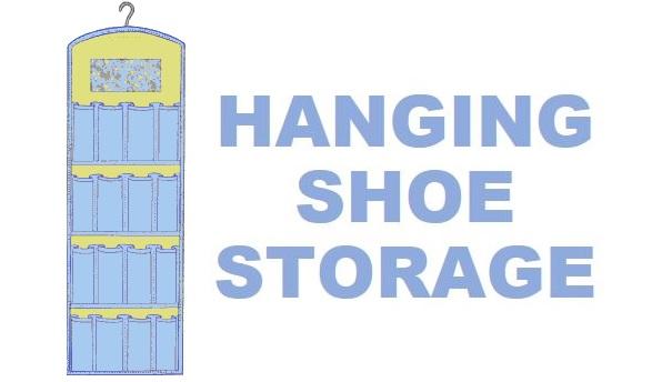 Free Pattern Hanging Shoe Organizer Sewing