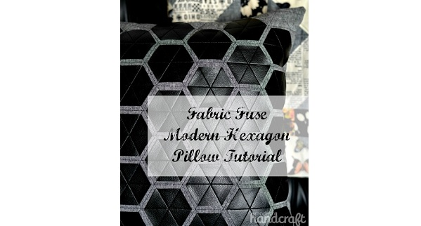 Tutorial: Modern hexagon pillow