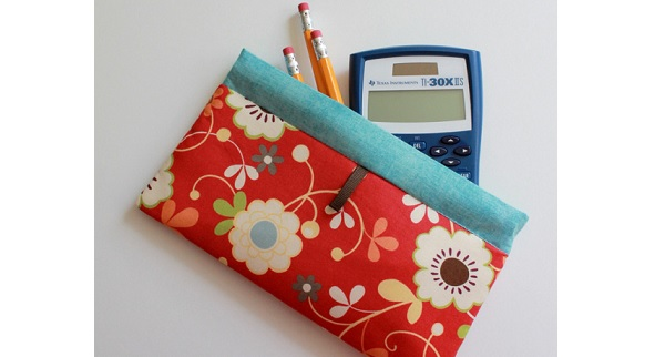 Tutorial: Easy pinch pouch pencil case