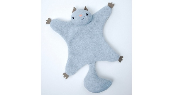 Free pattern: Flying Squirrel softie