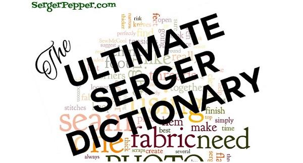 sergerdictionary