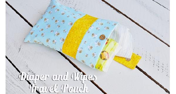 Tutorial: Diaper and wipes case