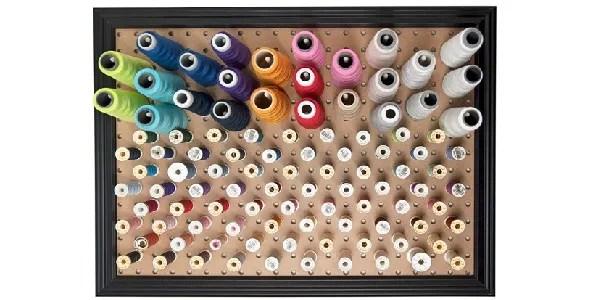 Tutorial: Pegboard thread organizer