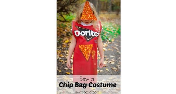 Tutorial: Chip bag Halloween costume