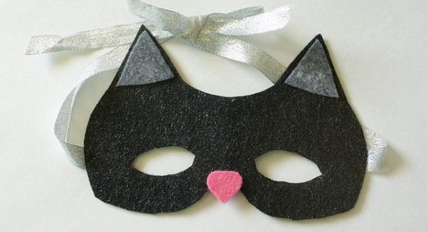 Tutorial: No-sew cat mask