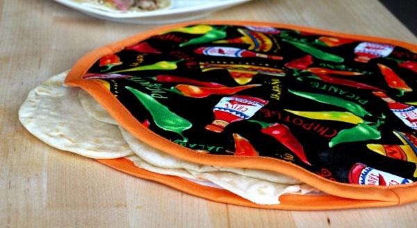 Tutorial: Fabric tortilla warmer