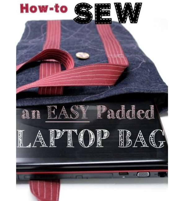 Tutorial: Padded laptop or tablet tote