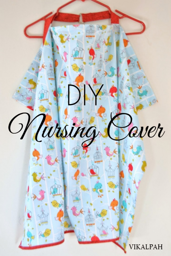 Tutorial: Blanket nursing cover