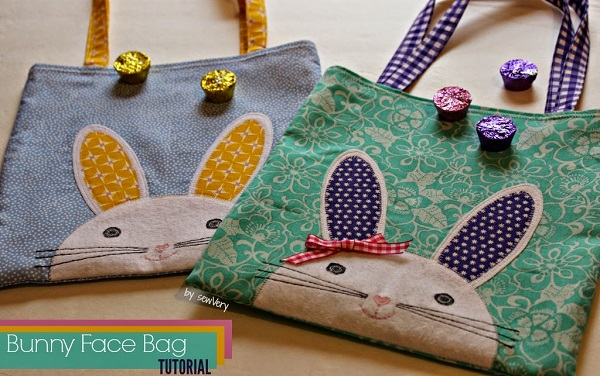 Tutorial: Bunny face tote