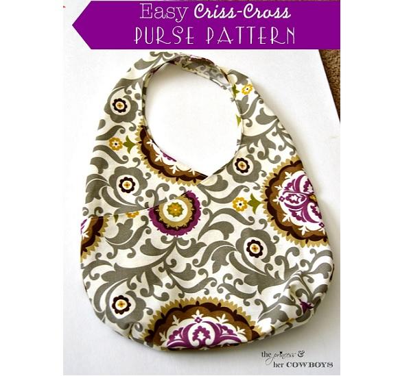 Tutorial: Easy criss-cross purse