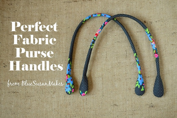 How To Make A Fabric Book Cover With Handles : Tutorial make your own fabric purse handles sewing