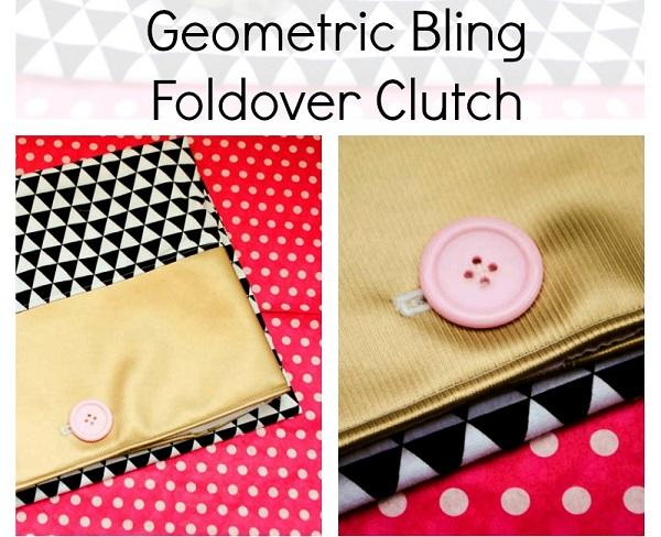 Tutorial: Button top foldover clutch