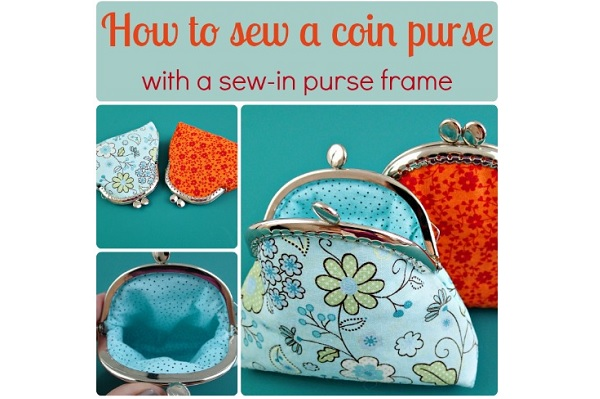 Tutorial: Coin purse with a sew-in frame