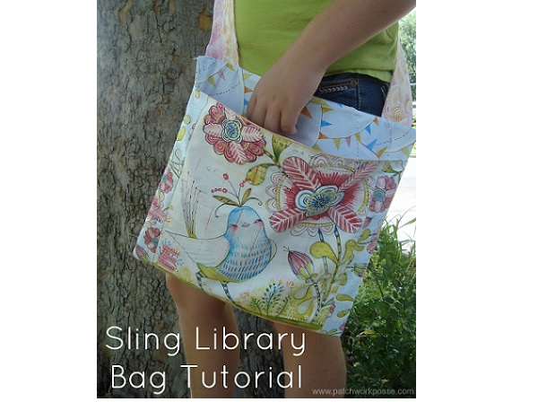 Tutorial: Library sling bag