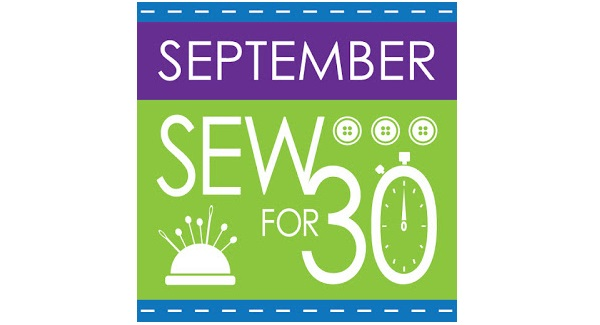 Take the September Sew For 30 pledge