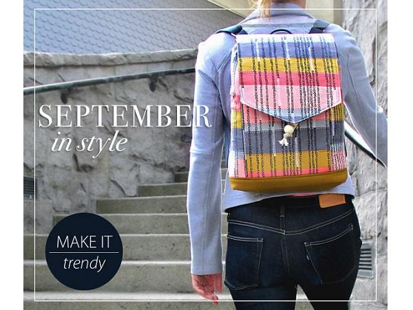 Tutorial: Drawcord backpack