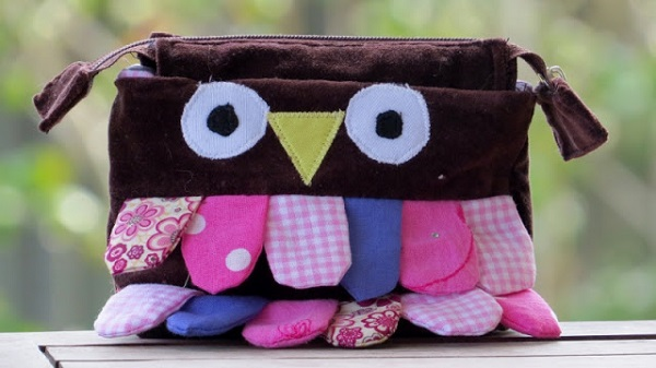 Tutorial: Scrap busting owl pouch