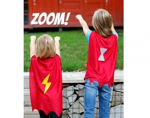 Tutorial: No-sew superhero cape