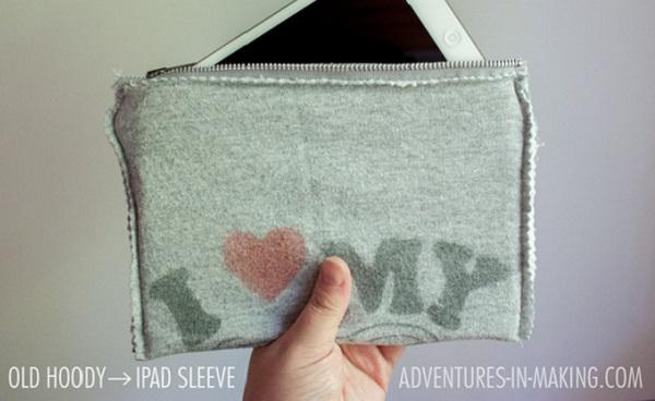 Tutorial: Sweatshirt iPad sleeve