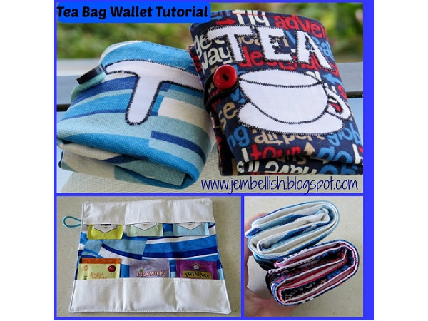 Tutorial: Tea bag wallet