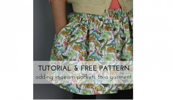 Free pattern: In-seam pockets in kids sizes