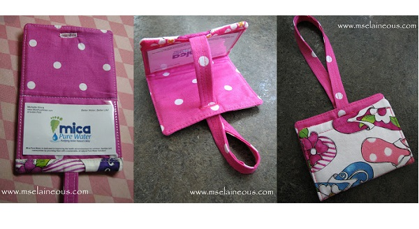 Tutorial: Wallet style luggage tag