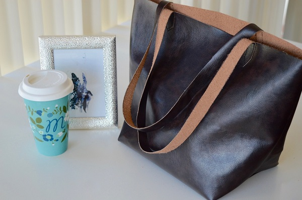 Tutorial: Designer-inspired faux leather tote