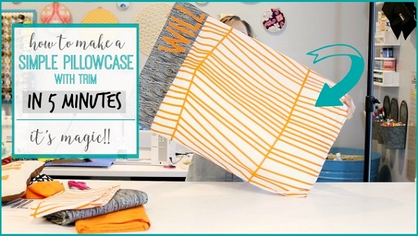 Video tutorial: 5-minute pillowcase