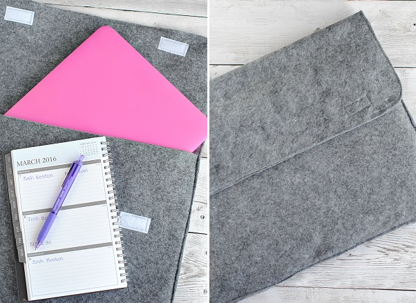 Tutorial: Easy 10 minute  laptop sleeve