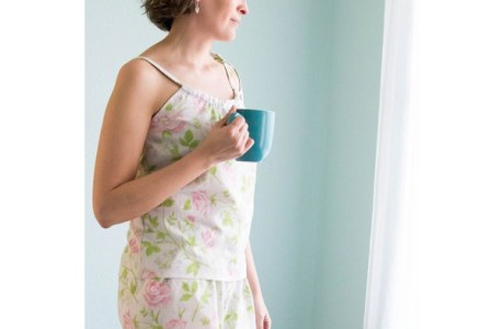 Tutorial: Vintage sheet pajama set