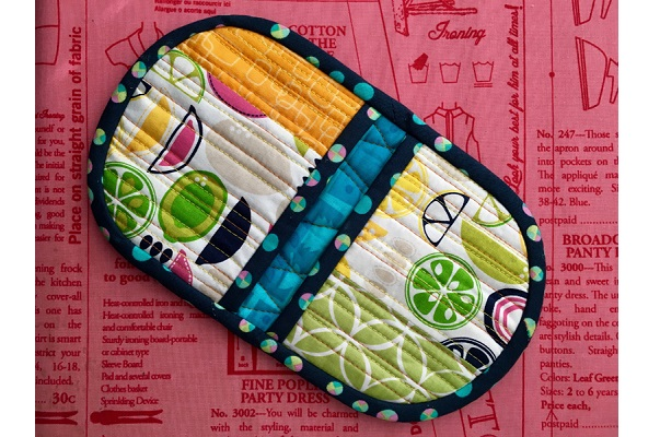 Video tutorial: Squeezy potholder