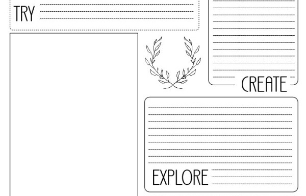 Freebie: Sewing project planner printable