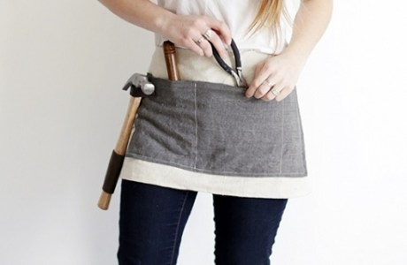 Tutorial: Waxed canvas tool apron