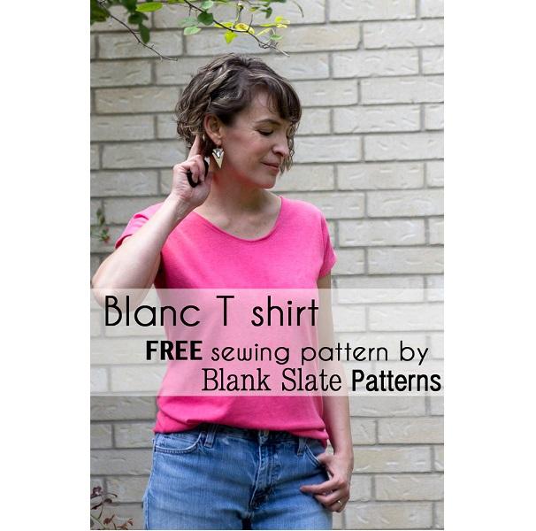 Free pattern: Blanc t-shirt
