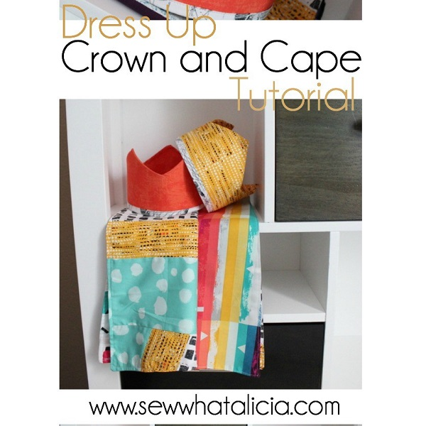 Tutorial: Dress up crown and cape