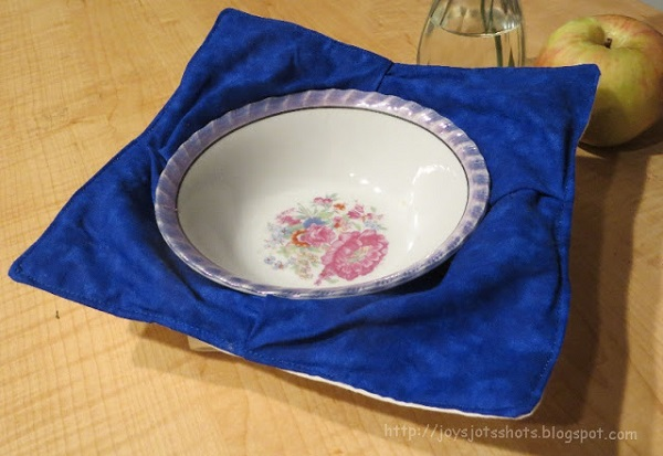 Tutorial: Flat out microwave bowl holder