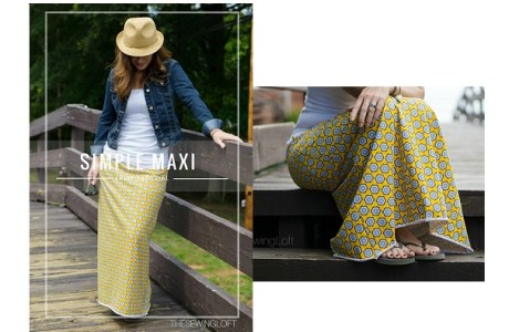 Tutorial: Simple maxi skirt