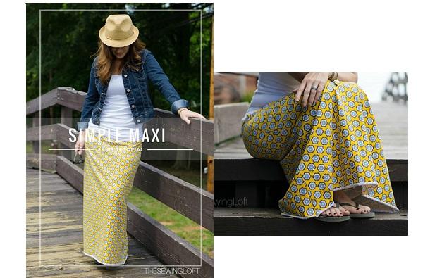 Tutorial: Simple maxi skirt