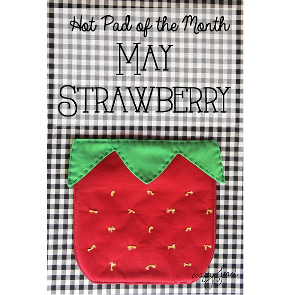 Tutorial: Strawberry hot pad