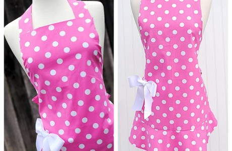 Tutorial: Cute apron with a flounce hem
