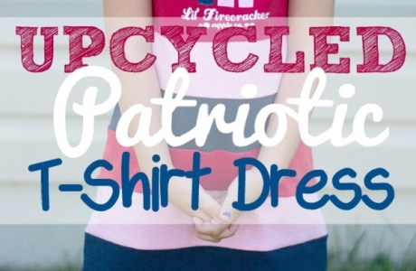 Tutorial: Easy upcycled t-shirt dress